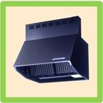 富士工業製 シロッコファンレンジフードW600×H600 ブラック 送料無料